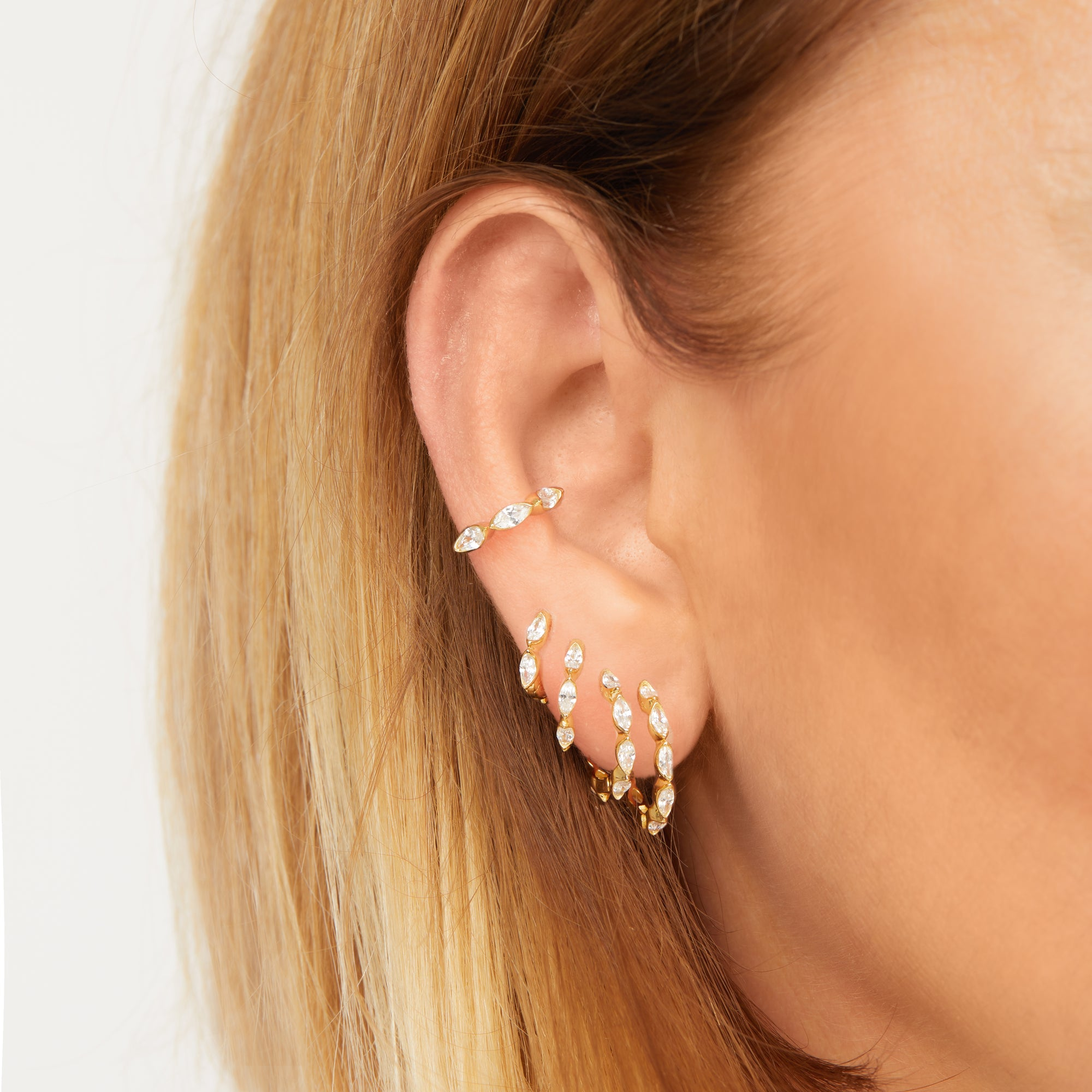 Graduated Hoop Earrings: Decoding the New Drop