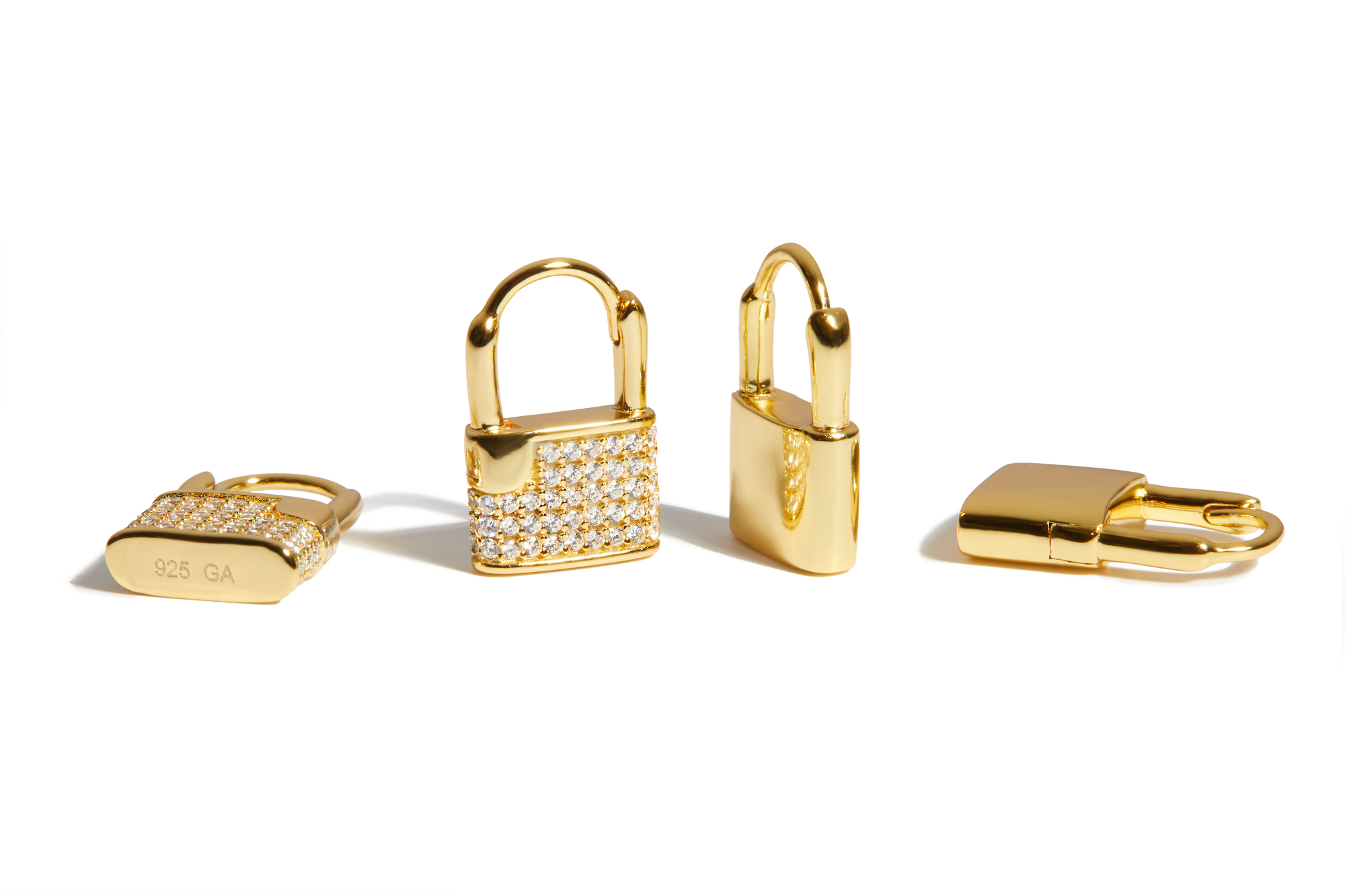 Padlocks Earrings & Pins