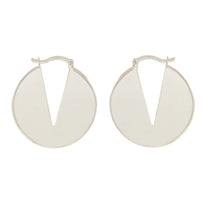 Load image into Gallery viewer, Amelia sterling silver hoops