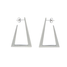 Load image into Gallery viewer, Zina sterling silver hoops