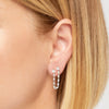 Rosie sterling silver double stud earring
