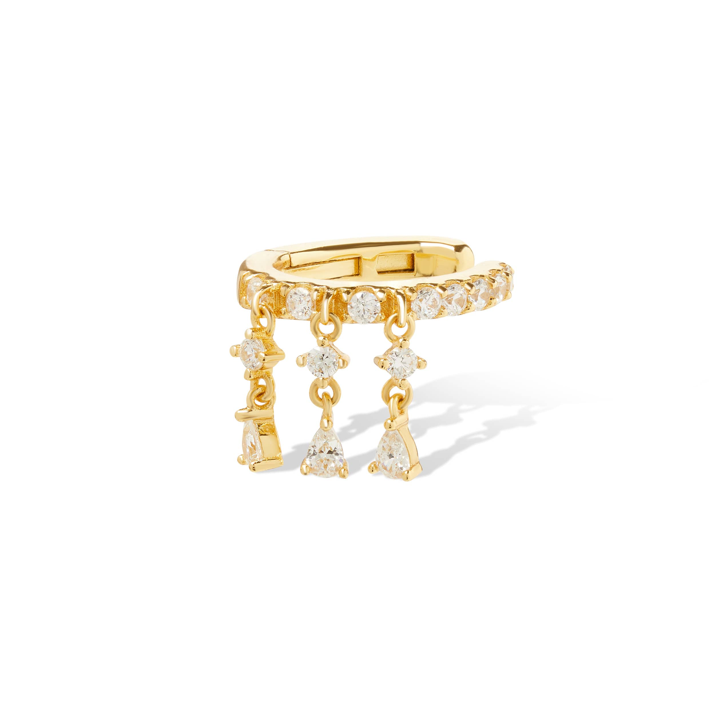 Image of Charlie gold vermeil ear cuff