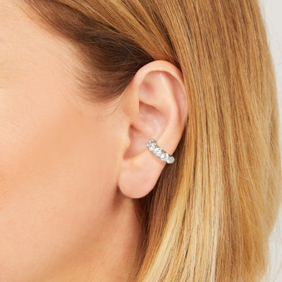 Daria sterling silver ear cuff
