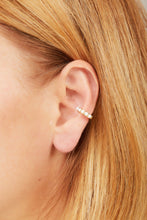 Load image into Gallery viewer, Jumbo opal stones gold vermeil ear cuff