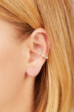 Load image into Gallery viewer, Jumbo stones gold vermeil ear cuff