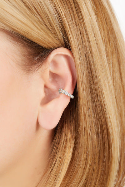 Mini Gala sterling silver ear cuff