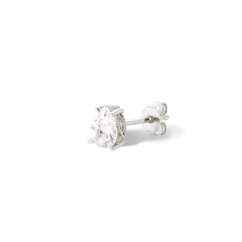 Mini Celeste sterling silver stud earring