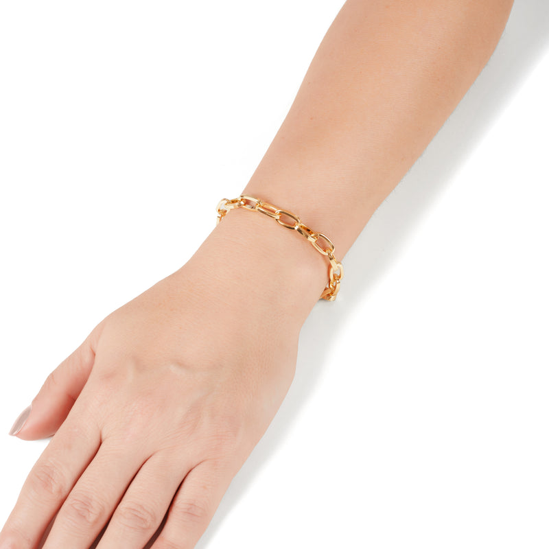 Cara gold plated chain anklet/bracelet