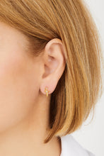 Load image into Gallery viewer, Freya gold vermeil stud earring