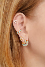 Load image into Gallery viewer, Ada gold vermeil turquoise earring