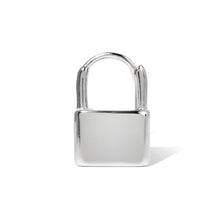 Load image into Gallery viewer, Padlock sterling silver earring
