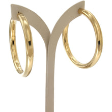 Load image into Gallery viewer, Bella 6 cm gold vermeil hoops - GALLERIA ARMADORO