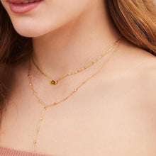 Load image into Gallery viewer, Mini tag gold plated necklace - GALLERIA ARMADORO