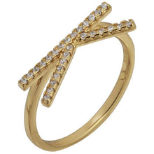 Load image into Gallery viewer, Monogram gold vermeil ring - GALLERIA ARMADORO