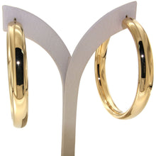 Load image into Gallery viewer, Nanah 6 cm gold vermeil hoops - GALLERIA ARMADORO