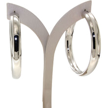 Load image into Gallery viewer, Nanah 6 cm sterling silver hoops - GALLERIA ARMADORO