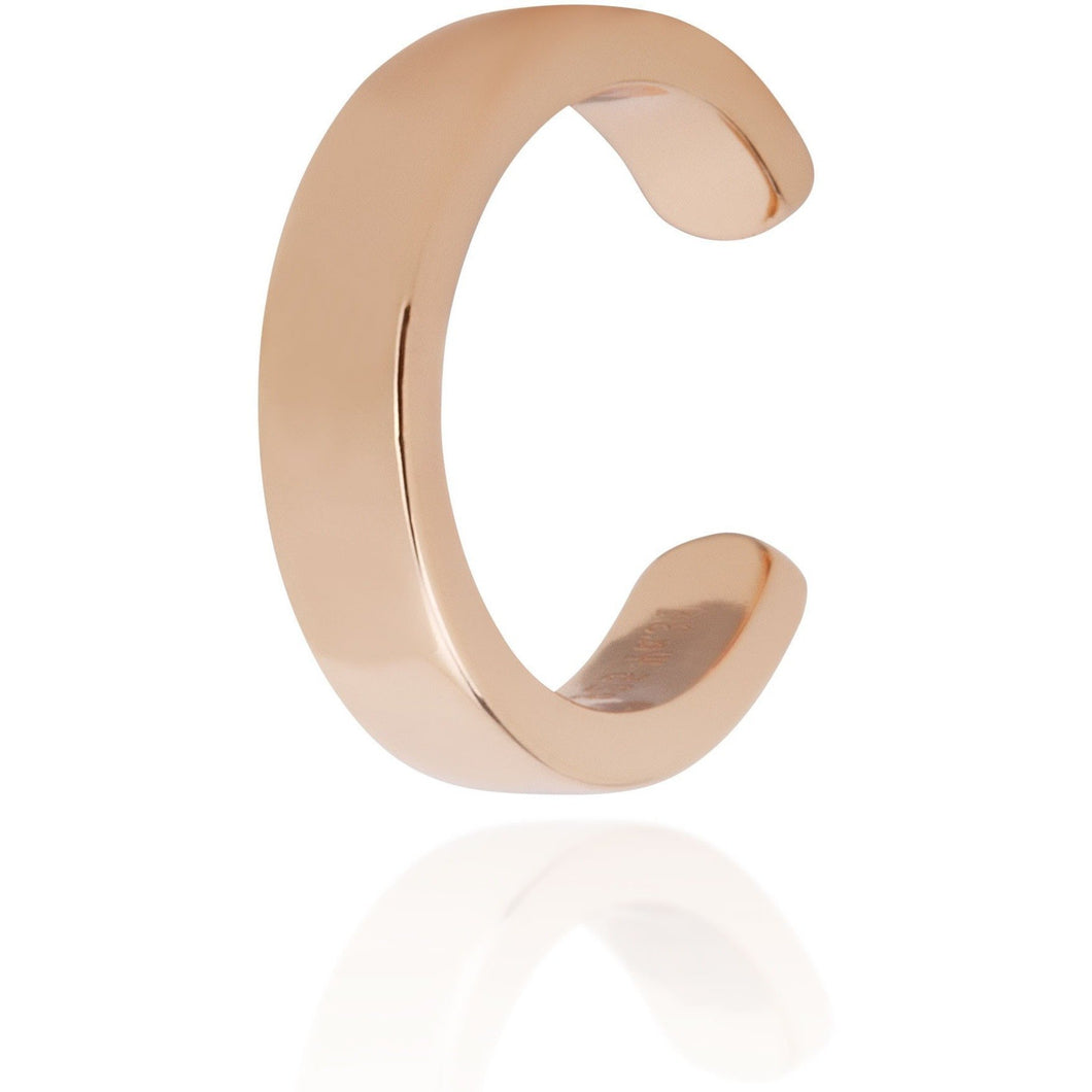 Simple ear cuff gold plated - GALLERIA ARMADORO