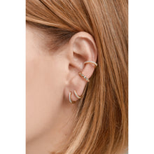 Load image into Gallery viewer, Medium gold vermeil earcuff
