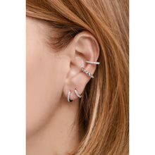 Load image into Gallery viewer, Medium sterling silver earcuff