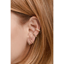 Load image into Gallery viewer, Large gold vermeil opal ear cuff