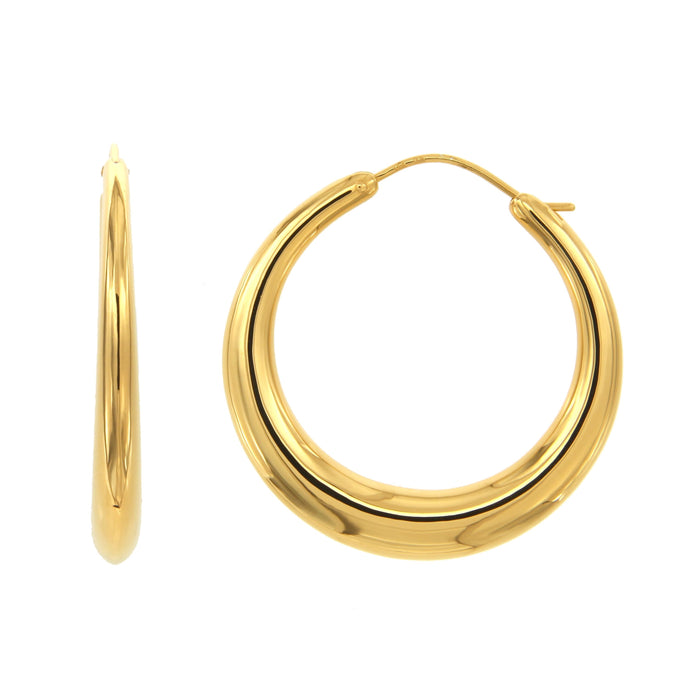 Ellie gold vermeil hoops