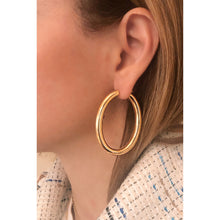 Load image into Gallery viewer, Kiki gold vermeil hoops