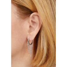 Load image into Gallery viewer, Lila sterling silver earring