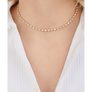 Gigi gold vermeil necklace