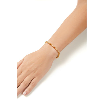 Gilda gold plated chain bracelet
