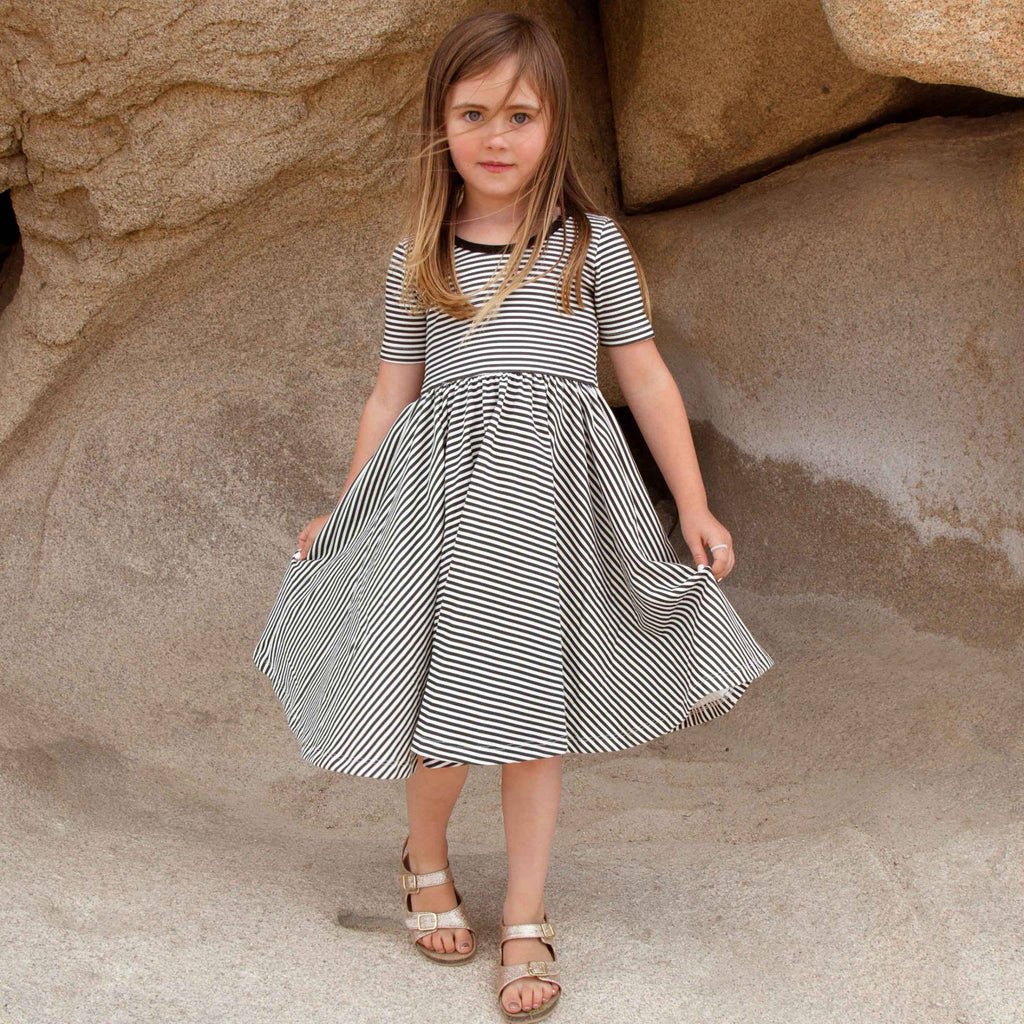 Organic Spinny Dress™ Stripes (3T-8Y)