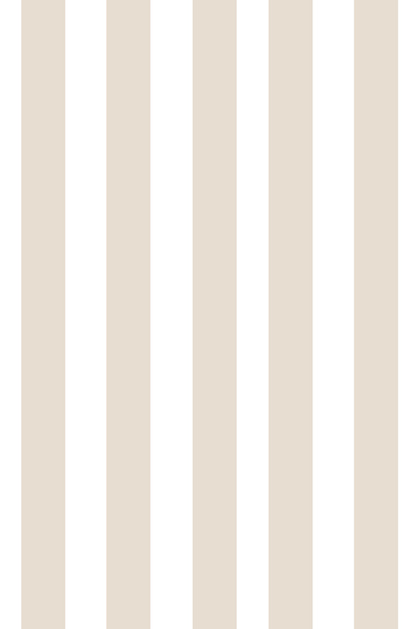 Woolf With Me Fitted Crib Sheet Stripes color_beige