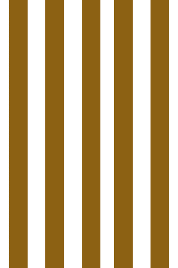 Woolf With Me Fitted Crib Sheet Stripes color_bronze