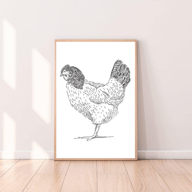 Wall Art Chicken