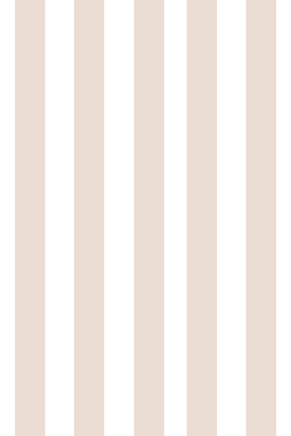 Woolf With Me Fitted Crib Sheet Stripes color_coconut