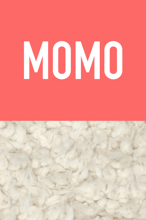 Woolf With Me Organic Personalized Baby Blanket color_coral