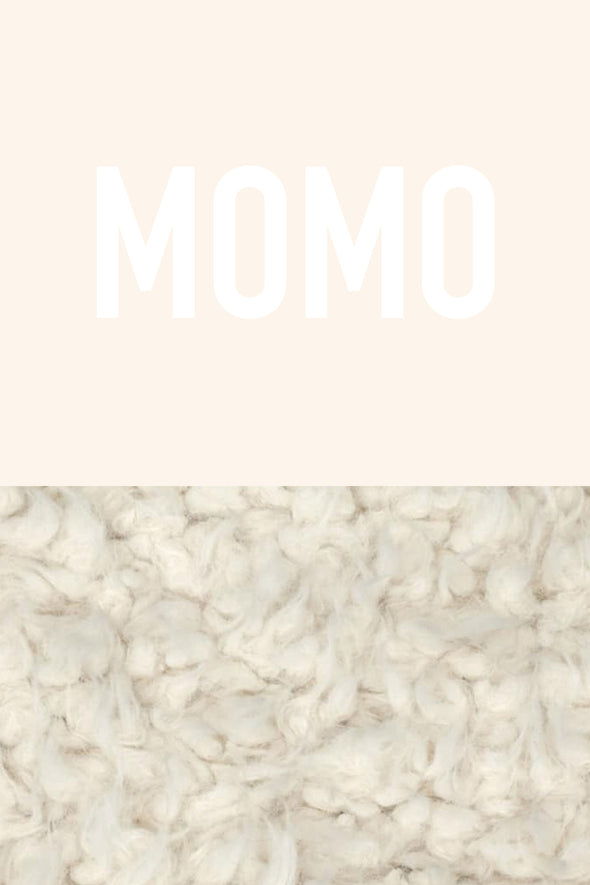 Woolf With Me Organic Personalized Baby Blanket color_cream