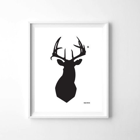 Wall Art Deer, 8x10 - Woolf With Me®