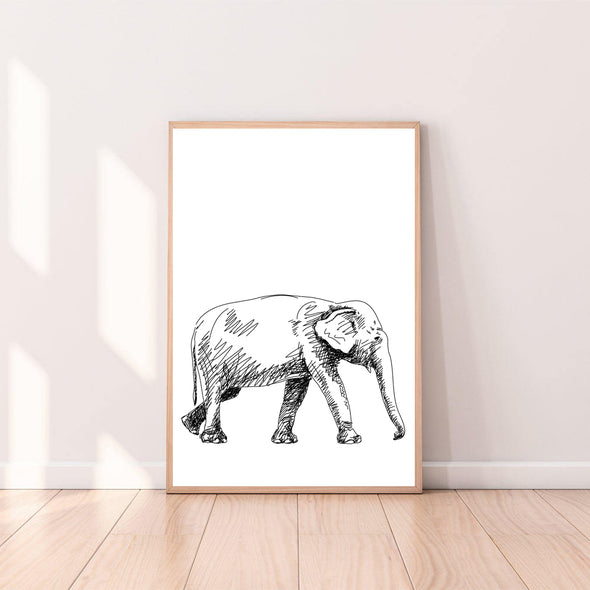 Wall Art Elephant