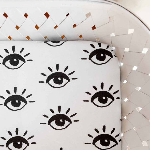 Organic Crib Sheet Eye