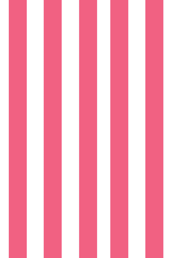 Woolf With Me Fitted Crib Sheet Stripes color_french-rose