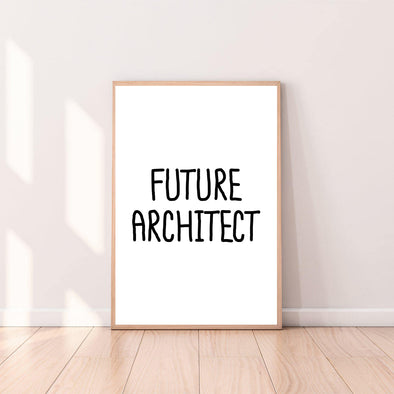 Wall Art Future Architect