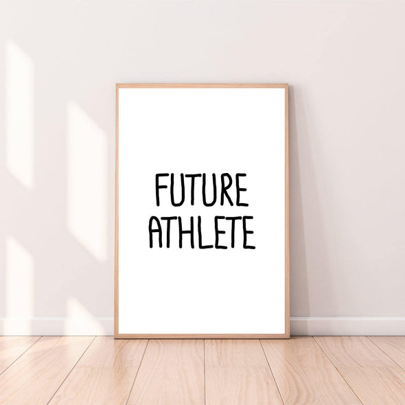 Wall Art Future Athlete