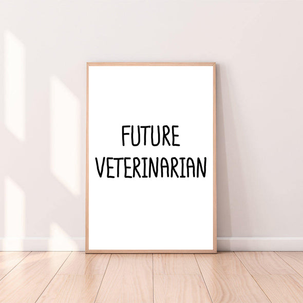 Wall Art Future Veterinarian