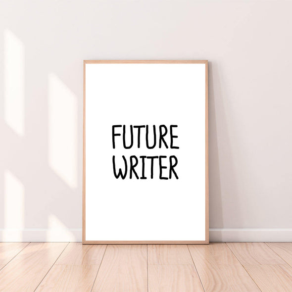 Wall Art Future Writer