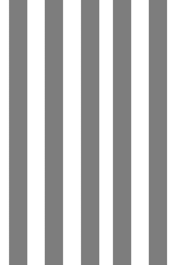 Woolf With Me Fitted Crib Sheet Stripes color_gray
