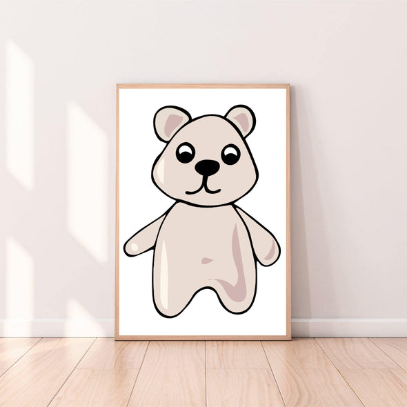 Wall Art Gummy Bear color_cream