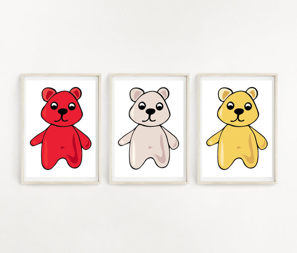 Wall Art Gummy Bear