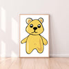 Wall Art Gummy Bear color_primrose-yellow