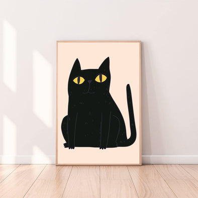 Wall Art Cat