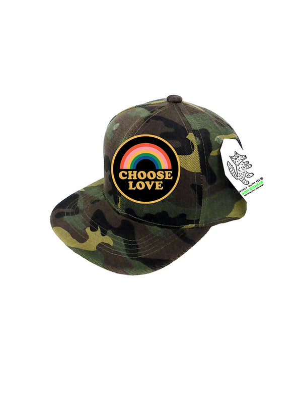 INFANT Trucker Hat Camouflage, Choose Love 0M-12M // Same Day Shipping!